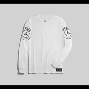 Nike Jordan PSG Paris Saint-Germain Long Sleeve
